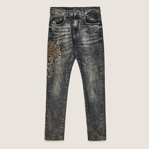 ZARA MAN  Bejeweled jeans